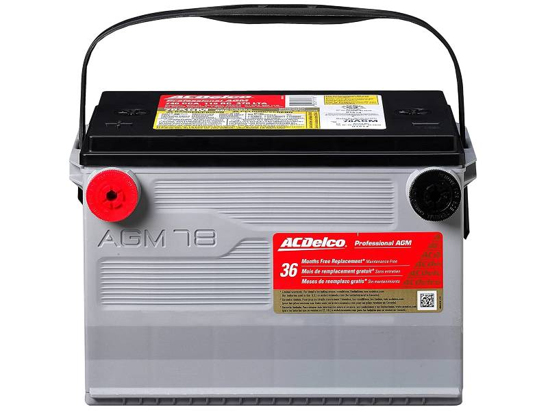 ACDelco 78AGM Professional AGM Automotive Group 78 Battery
