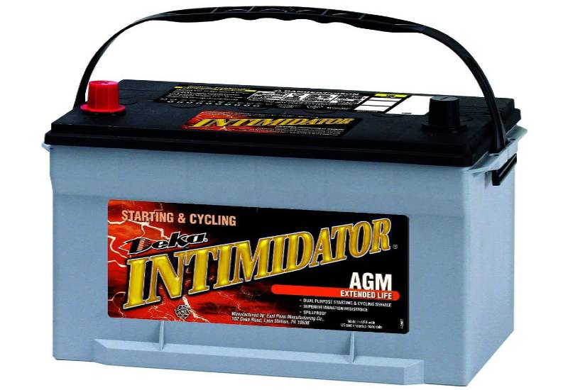 Deka 9A65 Intimidator AGM Battery Group 65 Battery