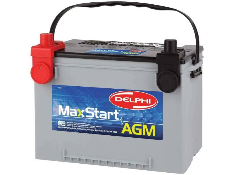 Delphi BU9078DT MaxStart AGM Battery, Group Size 78DT (Dual Terminal)