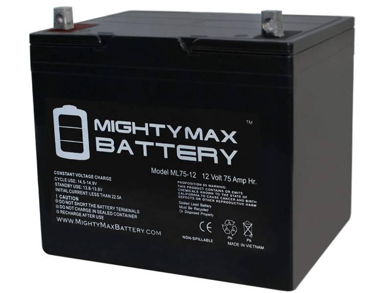 Mighty Max Battery 12V 75Ah SLA Group 24 Battery