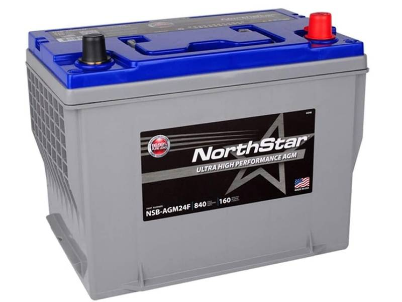 NORTHSTAR NSB-AGM24F Pure Lead Automotive Group 24F Battery