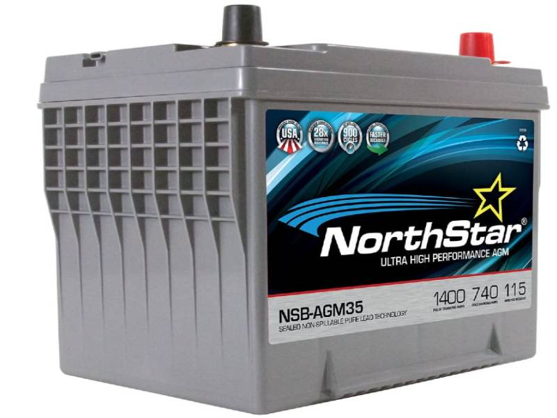 NorthStar NSB-AGM35 Automotive Group 35 Battery