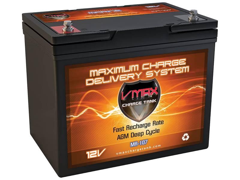 VMAXTANKS MR107-85 12V 85AH Group 24 battery