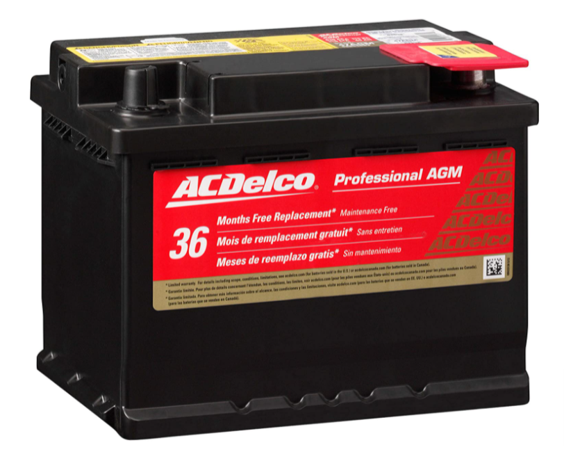 ACDelco 47AGM Group size 47 battery