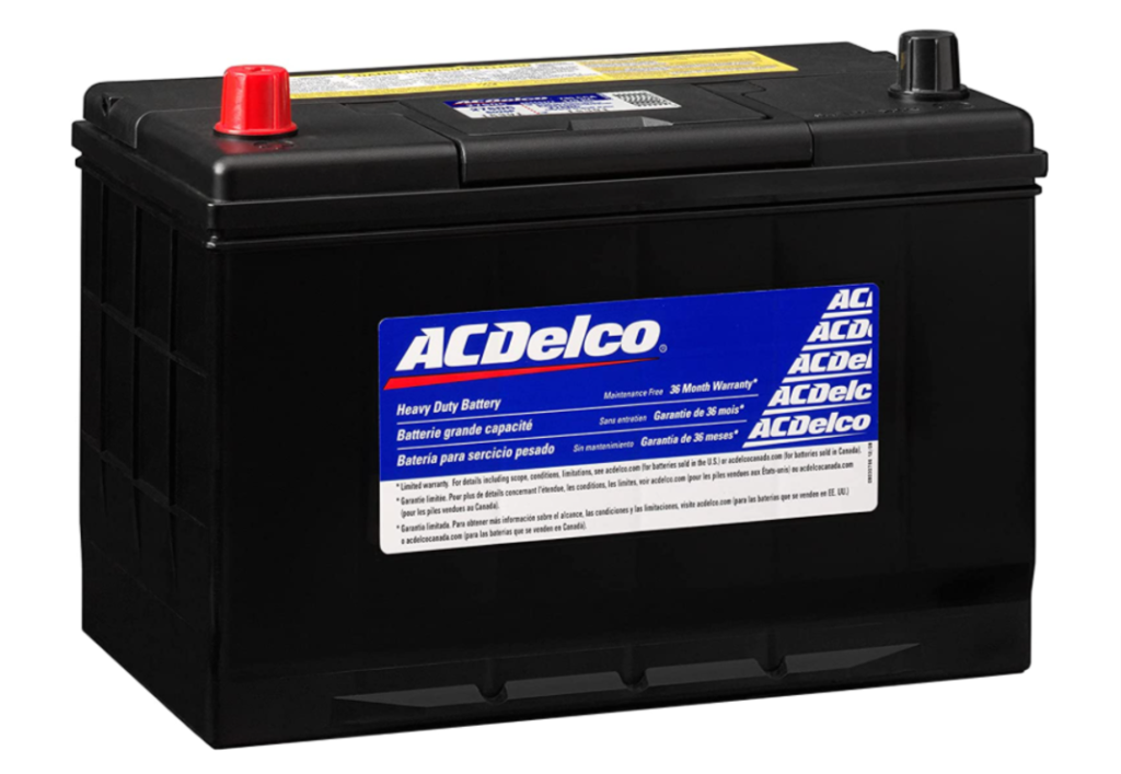 ACDelco Silver 27SDC Group 27 battery