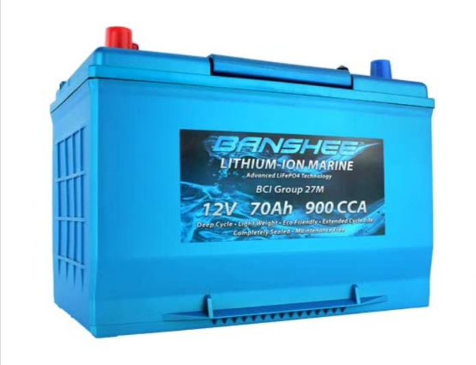Banshee D27M 8027-127 Group 27 Battery