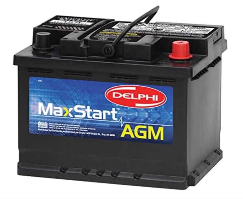 Delphi BU9047 MaxStart Group 47 AGM Battery
