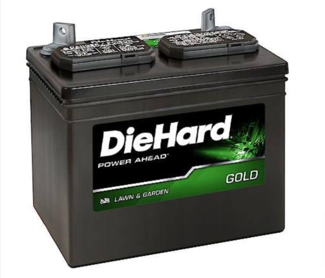 DieHard Lawn & Garden Pro Battery, Group Size U1