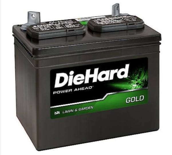 DieHard Lawn & Garden Pro Battery, Group Size U1R