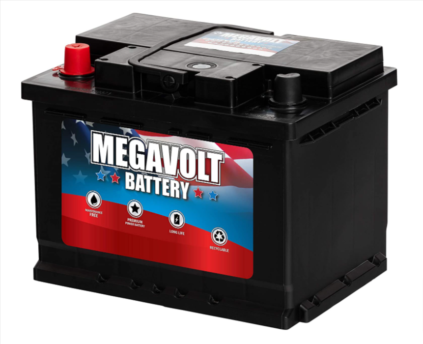 Megavolt DIN H5/L2 Group 47 Battery