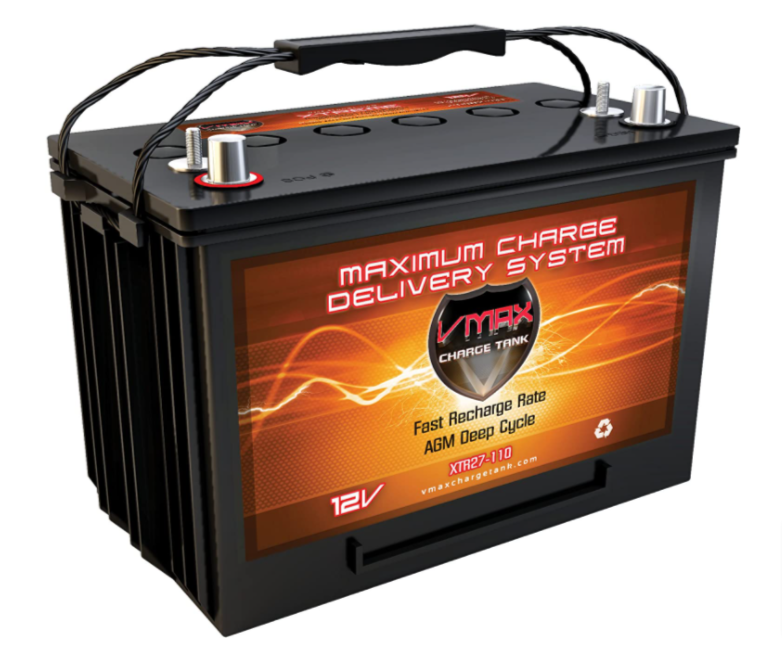 VMAX XTR27-110 Battery Group size 27